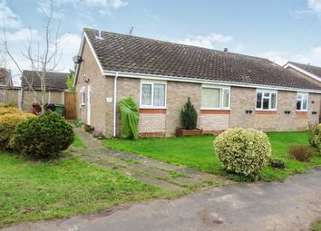 Thumbnail 2 bed semi-detached bungalow for sale in Rectory Road, Dickleburgh, Diss