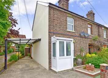 Thumbnail 2 bed end terrace house for sale in Maidstone Road, Nettlestead, Maidstone, Kent