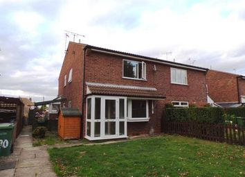 Thumbnail 1 bed semi-detached house for sale in Penney Close, Wigston, Leicester, Leicestershire