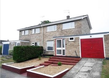 Thumbnail 3 bed semi-detached house to rent in Clements Way, Beck Row