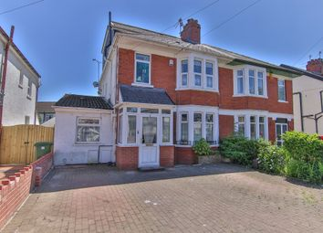 Thumbnail 5 bedroom semi-detached house for sale in Pantmawr Road, Whitchurch, Cardiff