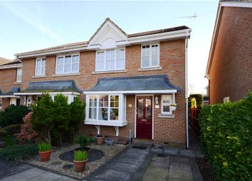 Thumbnail 3 bed end terrace house for sale in Curtis Close, Camberley, Surrey
