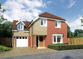 Thumbnail 4 bed detached house for sale in Plot 2, Ramley Road, Pennington, Lymington, Hampshire