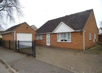 Thumbnail 3 bedroom detached bungalow for sale in 40B Wood Street, Chatteris, Cambridgeshire