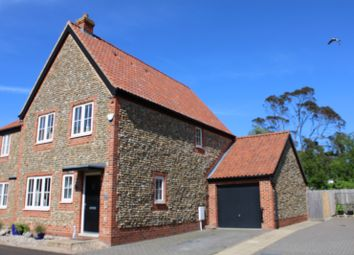 Thumbnail 3 bed semi-detached house for sale in Northrepps, Cromer, Norfolk