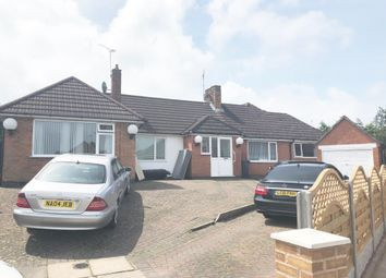 Thumbnail 4 bed bungalow for sale in Sunnyfeild Close, Evington, Leicester. (Off Spencefield Lane)
