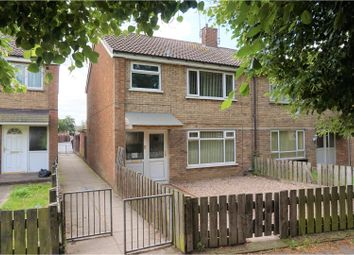 Thumbnail 3 bed end terrace house for sale in St. Albans Close, Scunthorpe