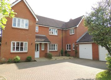 Thumbnail 4 bed detached house for sale in Hogarth Road, Downham Market
