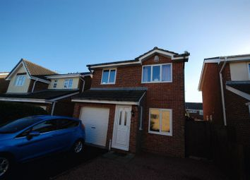 Thumbnail 3 bed detached house for sale in Harvey Close, Ashington