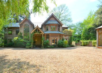 Thumbnail 6 bed detached house for sale in Bearwood Road, Wokingham, Berkshire