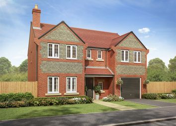 "Thumbnail 5 bed detached house for sale in ""The Chillingham "" at Ashford Hill Road, Ashford Hill, Thatcham"