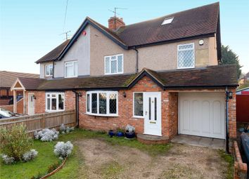 Thumbnail 4 bedroom semi-detached house for sale in Grazeley Road, Three Mile Cross, Reading, Berkshire