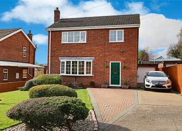 Thumbnail 3 bed detached house for sale in Post Office Lane, Kirmington, Ulceby, Lincolnshire