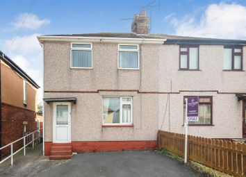 Thumbnail 3 bed semi-detached house for sale in Fourth Avenue, Flint