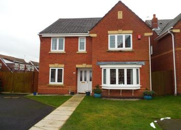 Thumbnail 4 bed detached house for sale in Heigham Gardens, St Helens, Merseyside
