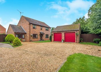 Thumbnail 4 bed detached house for sale in Churchfield Way, Wisbech St. Mary, Wisbech