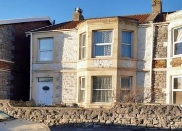 Thumbnail 1 bed flat to rent in Churchill Road, Weston-Super-Mare, North Somerset