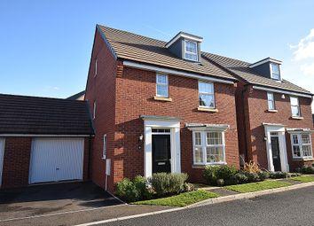 Thumbnail 4 bed detached house for sale in Huntsham Road, Rougemont Park, Exeter