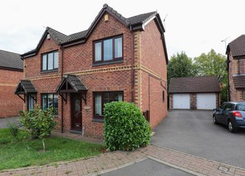 Thumbnail 2 bed semi-detached house for sale in Nethergreen Court, Killamarsh, Sheffield