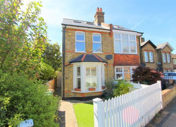 Thumbnail 4 bedroom semi-detached house for sale in Shorts Road, Carshalton