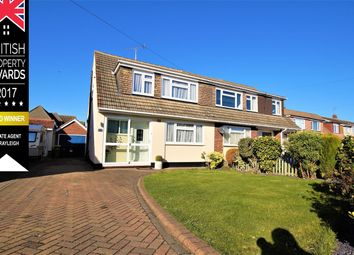 Thumbnail 3 bed semi-detached house for sale in Exmouth Drive, Rayleigh
