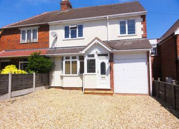 Thumbnail 3 bed semi-detached house to rent in Homefield Road, Codsall, Wolverhampton