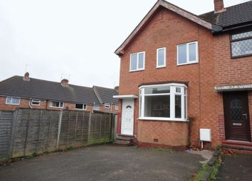 Thumbnail 3 bed terraced house to rent in Barbara Road, Hall Green, Birmingham