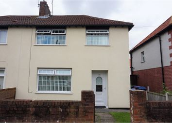 Thumbnail 3 bed semi-detached house for sale in Hurlingham Road, Liverpool