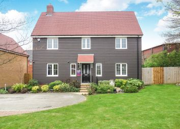 Thumbnail 4 bedroom detached house for sale in Bedford Road, Houghton Regis, Dunstable