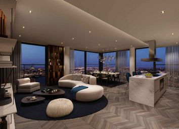 Thumbnail 4 bed flat for sale in South Quay Plaza Penthouse, Valiant Tower, Canary Wharf