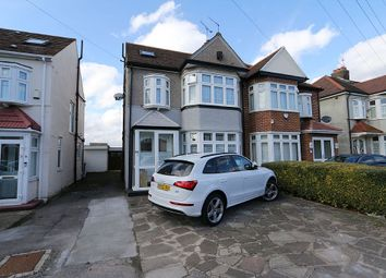 Thumbnail 4 bed semi-detached house for sale in Wensleydale Avenue 0Nb, Ilford, Essex