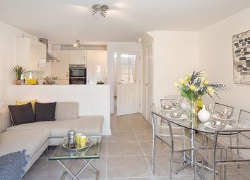 "Thumbnail 3 bedroom semi-detached house for sale in ""Cannington"" at Carters Lane, Kiln Farm, Milton Keynes"