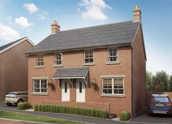 Thumbnail 3 bedroom semi-detached house for sale in Hanbury Locks, Pontrhydyrun, Cwmbran