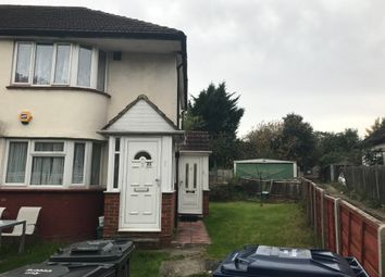 Thumbnail 2 bed flat to rent in Woodend Lane, Northolt