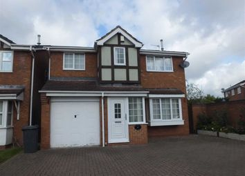 Thumbnail 4 bed detached house to rent in Knightsbridge Way, Burton On Trent, Staffs