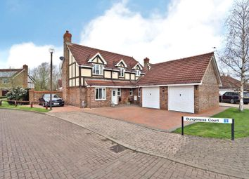 Thumbnail 4 bed detached house for sale in Dungeness Court, Tattenhoe