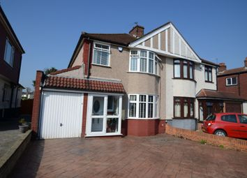 Thumbnail 3 bed semi-detached house for sale in Abbey Hill Road, Sidcup