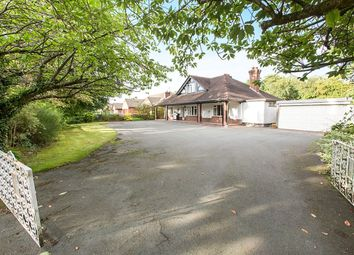 Thumbnail 4 bed bungalow for sale in Red Roofs Newcastle Road South, Brereton, Sandbach