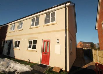 Thumbnail 2 bed semi-detached house to rent in Trumpet Close, Gobowen, Shropshire