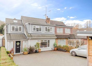 Thumbnail 4 bed semi-detached house for sale in Boxley Road, Walderslade, Chatham