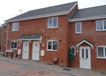 Thumbnail 2 bedroom terraced house for sale in Plot 3, Meadowlands, Wrentham, Beccles