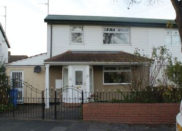 Thumbnail 3 bed semi-detached house for sale in Trevelyan Avenue, Blyth