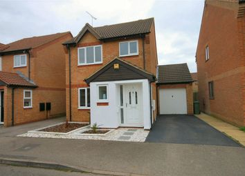 Thumbnail 3 bed detached house for sale in Sheridan Close, Aylesbury, Buckinghamshire