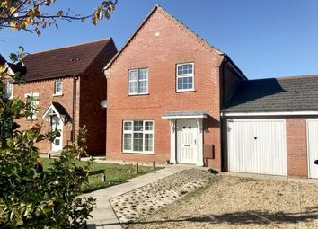 Thumbnail 3 bed link-detached house for sale in Vicarage Gardens, Old Leake, Boston, Lincolnshire