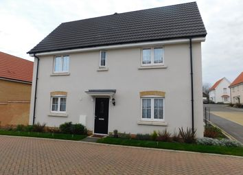 Thumbnail 3 bed detached house for sale in Egret Drive, Stowmarket