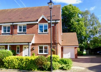 Thumbnail 3 bed semi-detached house for sale in Lowbury Gardens, Newbury