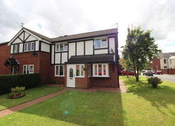Thumbnail 3 bed semi-detached house for sale in Belgrave Close, Blackburn