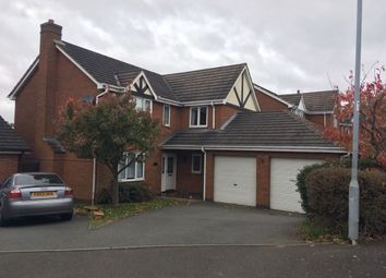 Thumbnail 5 bed detached house to rent in Grizedale Close, Brizlincote Valley, Burton Upon Trent, Staffordshire