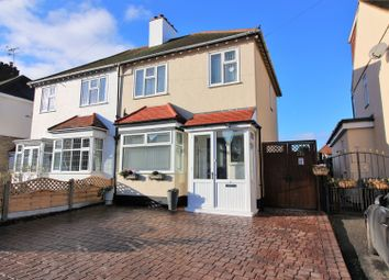 Thumbnail 3 bed semi-detached house for sale in Richmond Drive, Westcliff-On-Sea