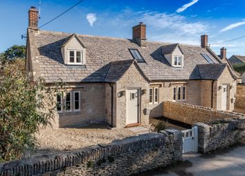 Thumbnail 3 bed semi-detached house for sale in The Street, Shipton Moyne, Tetbury